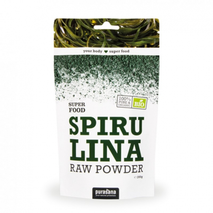 Super Food Poudre De Spiruline Bio 200g PURASANA
