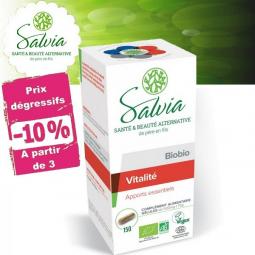 Biobio Vitalité Bio 150 Gélules ou 100g Poudre SALVIA