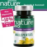 Vente Millepertuis Bio 60 Gélules BOUTIQUE NATURE