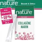 Vente Collagène Marin Boisson 15 Sticks 7g BOUTIQUE NATURE