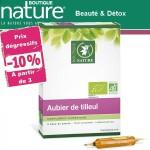 Vente Aubier De Tilleul Phyto Concentré Bio 20 Ampoules de 10 ml BOUTIQUE NATURE