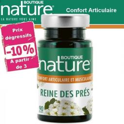 Reine Des Prés 90 Gélules BOUTIQUE NATURE à partir de 3 -10%