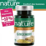 Vente Gingembre 90 Gélules BOUTIQUE NATURE