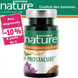 Prostacure Prostate 60 ou 180 Capsules BOUTIQUE NATURE