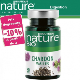 Chardon Marie Bio 60 ou 180 Gélules BOUTIQUE NATURE