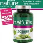 Vente Lécithine De soja Granulés 200g ou 500g - 60 ou 180 Capsules BOUTIQUE NATURE