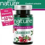 Vente Cranberry Bio 60 ou 180 Gélules BOUTIQUE NATURE