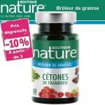 Vente Cétones De Framboise 60 Gélules BOUTIQUE NATURE