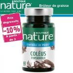 Vente Coleus Forskohlii 60 Gélules BOUTIQUE NATURE