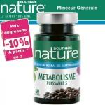 Vente Métabolisme Puissance 5 60 ou 180 Comprimés BOUTIQUE NATURE
