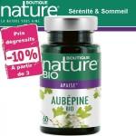 Vente Aubépine Bio 60 Gélules BOUTIQUE NATURE