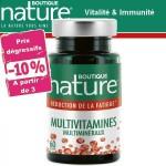 Vente Multivitamines Multiminéraux 60 Gélules BOUTIQUE NATURE