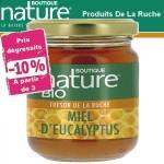Vente Miel d'Eucalytus Bio 250g BOUTIQUE NATURE