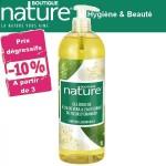 Vente Gel Douche Aloe Vera et Fleur d'Oranger Bio 1l BOUTIQUE NATURE