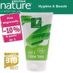 Vente Gel à l'Aloe Vera Bio 125ml BOUTIQUE NATURE