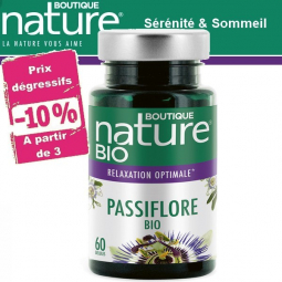 Passiflore Bio 60 Gélules BOUTIQUE NATURE