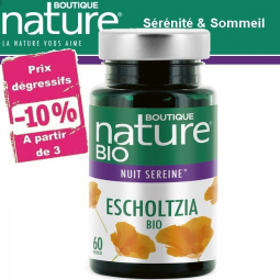 Escholtzia Bio 60 Gélules BOUTIQUE NATURE