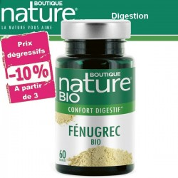 Fénugrec Bio 60 Gélules BOUTIQUE NATURE
