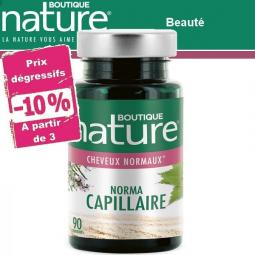 Norma Capillaire 90 Comprimés BOUTIQUE NATURE à partir de 3 -10%