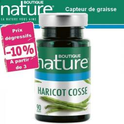 Haricot Cosse 90 Gélules BOUTIQUE NATURE à partir de 3 -10%