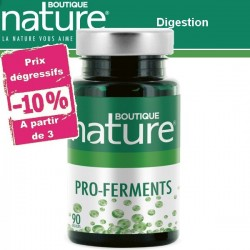 Pro-ferments 90 Gélules BOUTIQUE NATURE