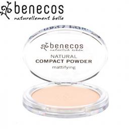 Poudre Compacte Porcelaine Bio 9g BENECOS