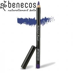 Crayon Contour Des Yeux Bleu Nuit Bio BENECOS