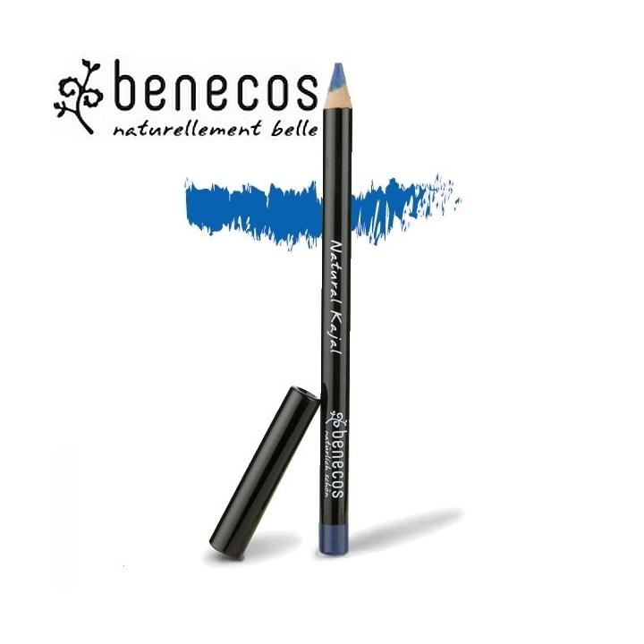 Crayon Contour Des Yeux Bleu Electrique Bio BENECOS