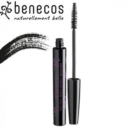 Mascara Multi-effet Juste Noir 8ml Bio BENECOS