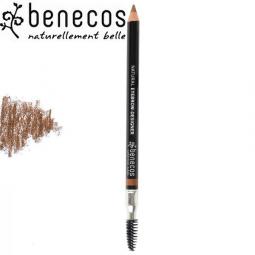 Crayon à Sourcils Châtain 1,13g Bio BENECOS