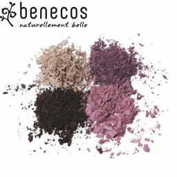 Poudre Fard à Paupières 4 Couleurs Camaïeu de Rose Bio BENECOS