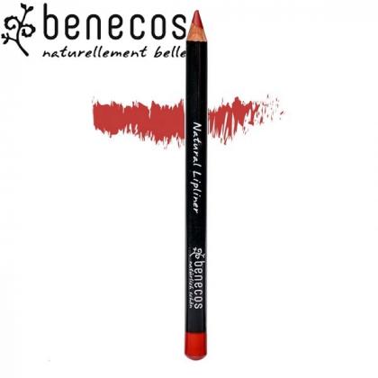 Crayon Contour Des Lèvres Rouge Bio BENECOS