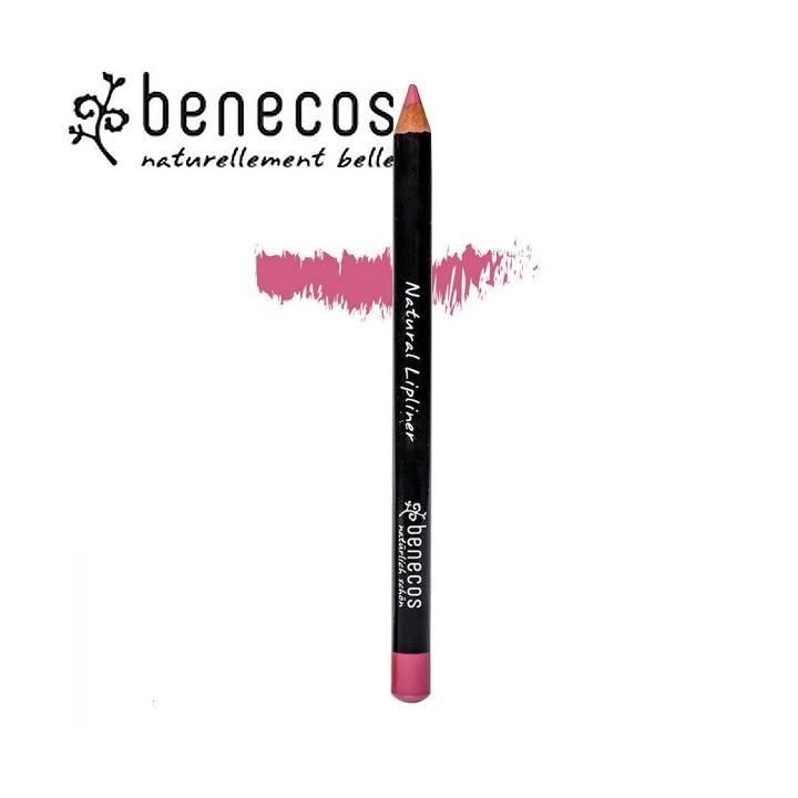 Crayon Contour Des Lèvres Rose Bio BENECOS
