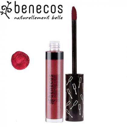 Gloss Rouge Bordeaux 5ml Bio BENECOS