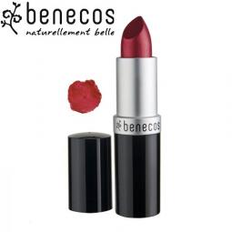 Rouge à Lèvres Rouge Classique Bio BENECOS