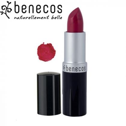 Rouge à Lèvres Rouge Bordeaux Bio BENECOS