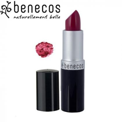 Rouge à Lèvres Rouge Bordeaux Intense Bio BENECOS
