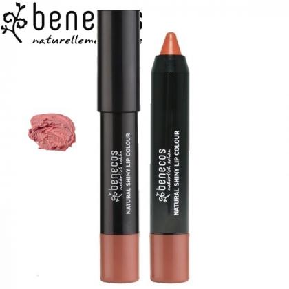Rouge à Lèvres Brillant Beige Rosé Bio BENECOS