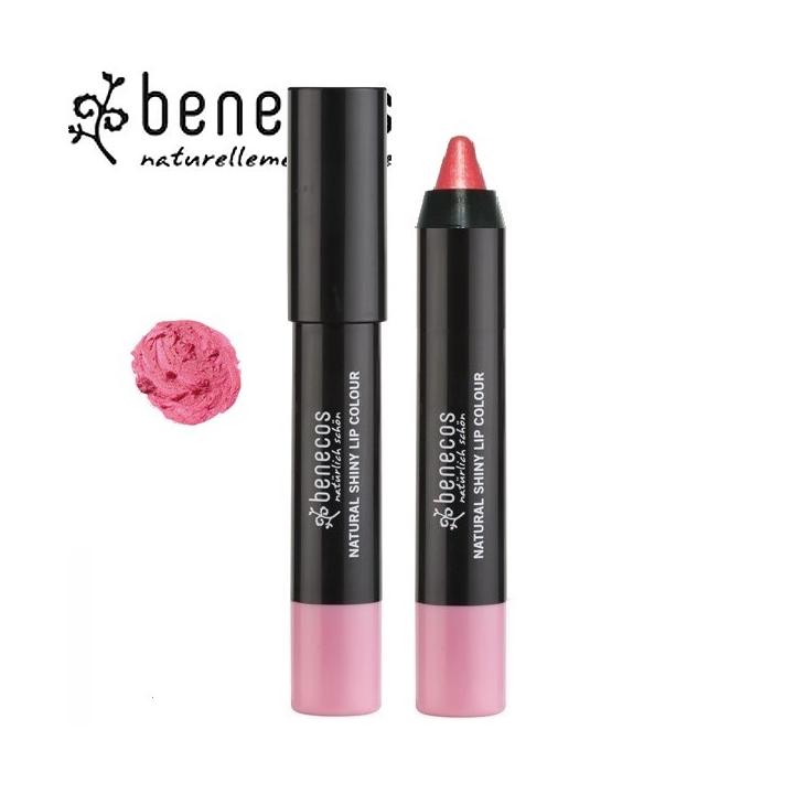 Rouge à Lèvres Brillant Rose Bio BENECOS