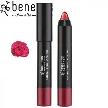 Rouge à Lèvres Brillant Bordeaux Bio BENECOS