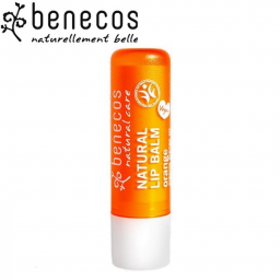 Baume à Lèvres Orange Bio 4,8g BENECOS