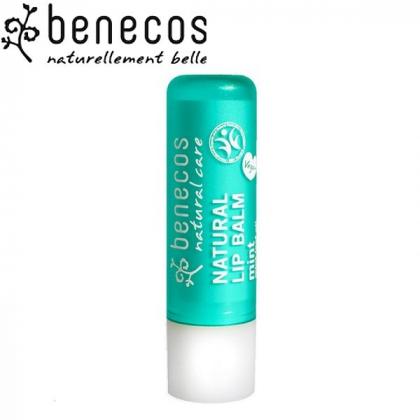 Baume à Lèvres Menthe Bio 4,8g BENECOS