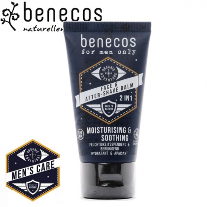 Baume Visage Et Après Rasage Bio 50ml BENECOS