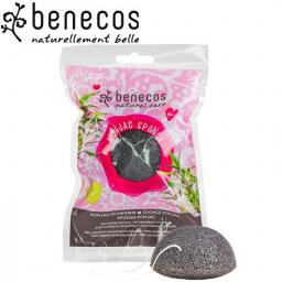 Eponge Konjac Charbon De Bambou BENECOS