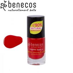 Vernis à Ongles Rouge Tendance Vegan 5ml BENECOS