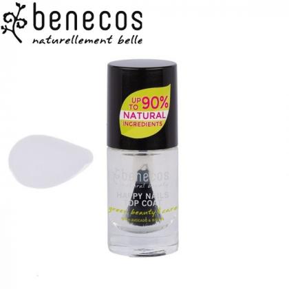 Vernis à Ongles Transparent Vegan 5ml BENECOS