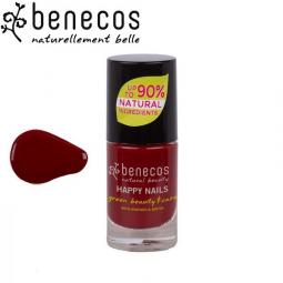 Vernis à Ongles Rouge Cerise Vegan 5ml BENECOS
