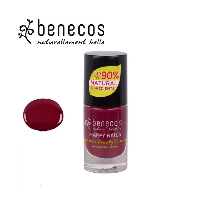 Vernis à Ongles Violet Vegan 5ml BENECOS