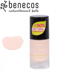 Vernis à Ongles Rose Perle Vegan 5ml BENECOS