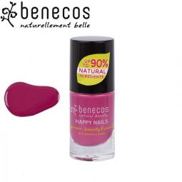 Vernis à Ongles Rose Framboise Vegan 5ml BENECOS